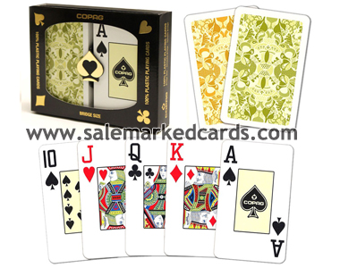 Gold series marked cards