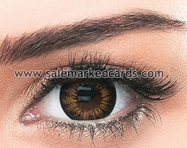 Infrared Contact Lenses for Dark Eyes