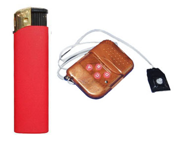 remote control lighter camera