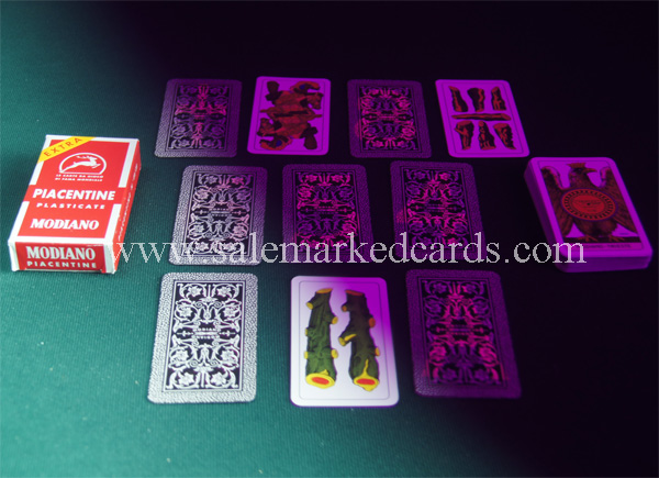 Modiano Piacetine Marked Cards
