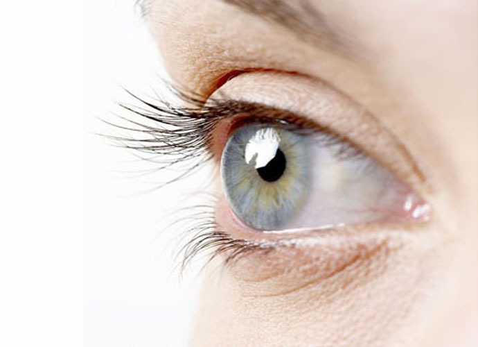 Infrared Contact Lenses For Hazel Eyes