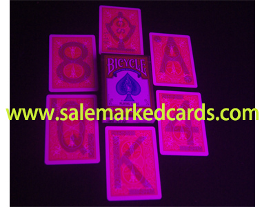 Paper Bicycle Marked Cards