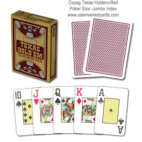 Copag Texas Hold'em Marked Cards with Special Big Marks