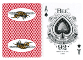 Regular Index Bee Marked Cards With Bees