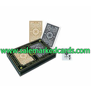 Golden And Black KEM Arrow Playing Cards