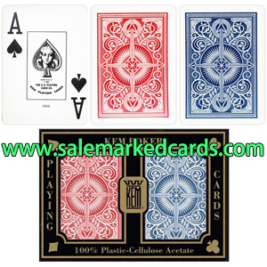 Red And Blue KEM Arrow Playing Cards