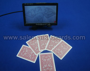 Infrared camera and infrared cards