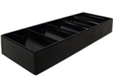 Black Plastic Chip Tray