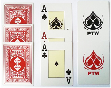 PTW Marked Playing Cards