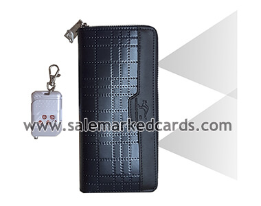 Wallet double scanner camera